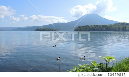 照片: 北海道阿寒湖