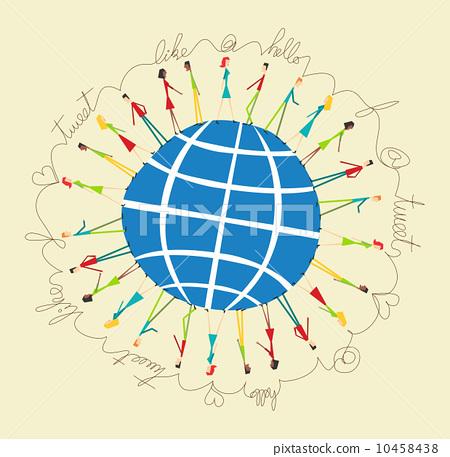 global social media people