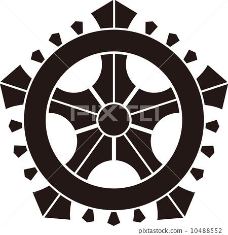 图库插图: 矢量图 家族徽章