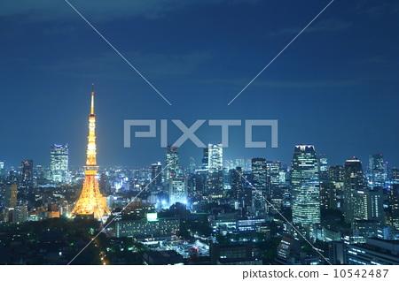 东京塔 照片 东京夜景 首页 照片 日本风景 东京 东京塔 东京夜景  *