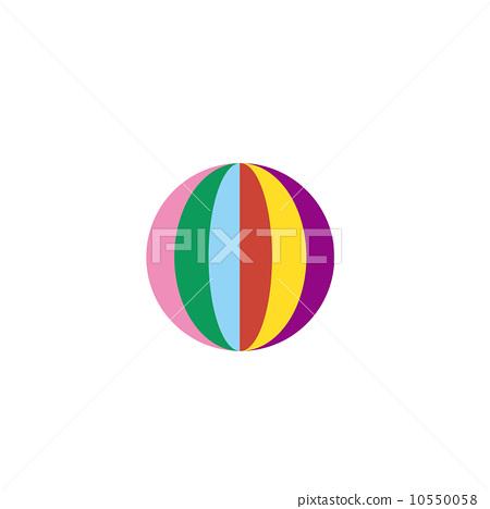 纸气球 纸 stock 插图
