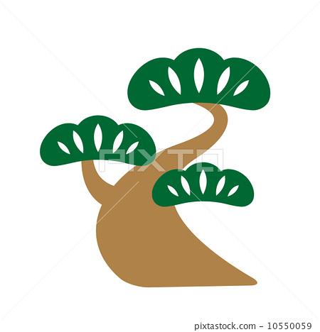 松树叶子logo图片