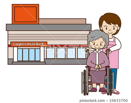 轮椅通道 老年的