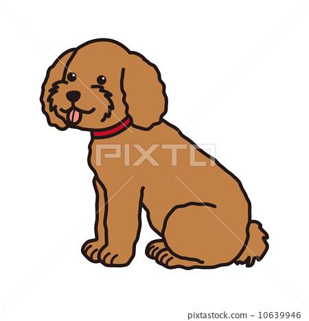 图库插图: 玩具狗 矢量 狗