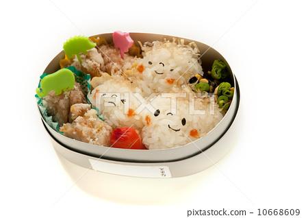 照片素材(图片): 便当 日式便当 食物