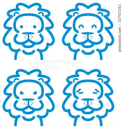 图标 母狮 狮子