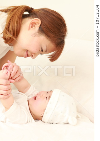 婴儿 动物宝宝 妈妈