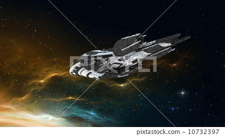 空间 外太空 宇宙飞船图片