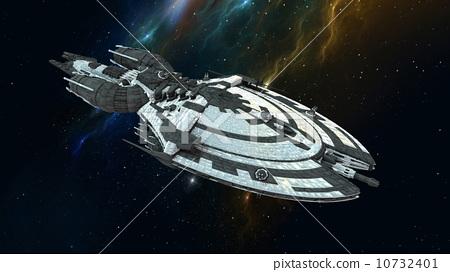 插图: 空间 外太空 宇宙飞船