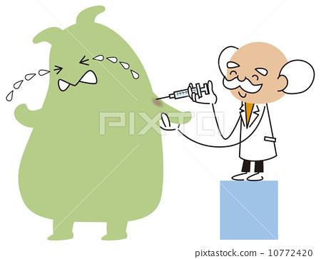 插图素材: 治疗 医生 医师