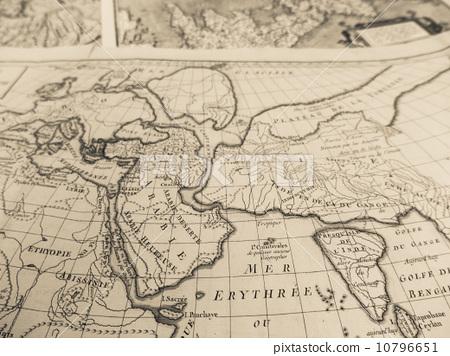古董地图 阿拉伯半岛