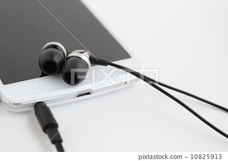 智能手机 耳机 快乐的