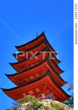 五重塔 世界遗产 游览