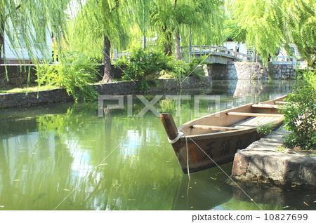 图库照片: 仓敷美观地区 仓敷 传统建筑