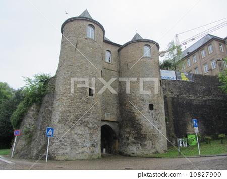 城堡大门 门塔