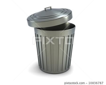 垃圾桶 垃圾箱 白铁皮