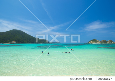 海洋 大海 渡嘉敷岛