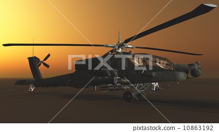 直升机 星野 结构