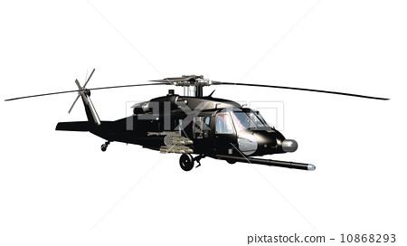 旋翼 直升机 stock 插图
