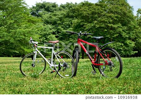 自行车 旅行者 户外