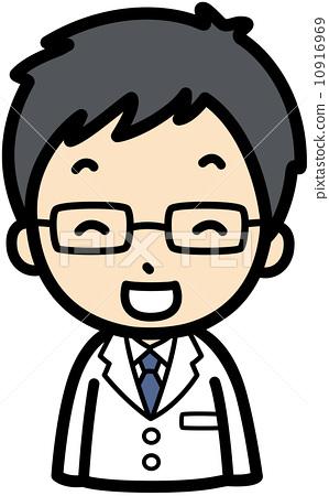卡通医生头像图片