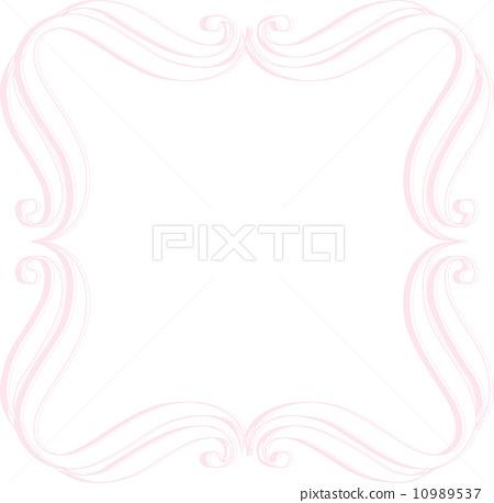 插图: 框架 彩带 边框