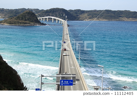 角岛大桥 海事的 海