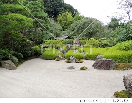 岩石庭院 明月院 花园-图库照片 [11283208] - pixta