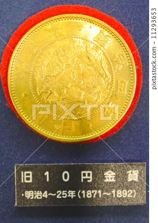 照片 质地 金属_玻璃 金 金箔 金币 黄金 金色  *pixta限定素材仅在pi