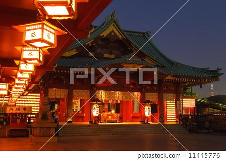 图库照片: 神田美崎的夜晚