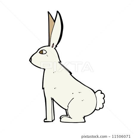 兔子 可爱 stock 插图