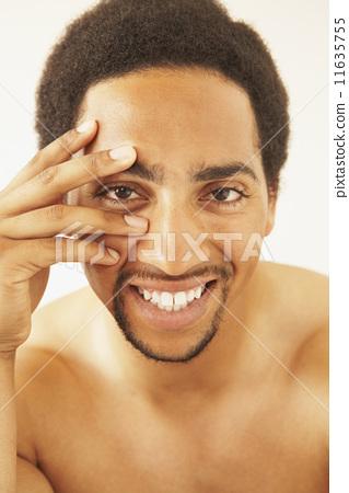 非洲裔美国人 微笑