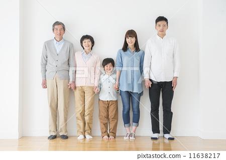 家庭 三代人 共存