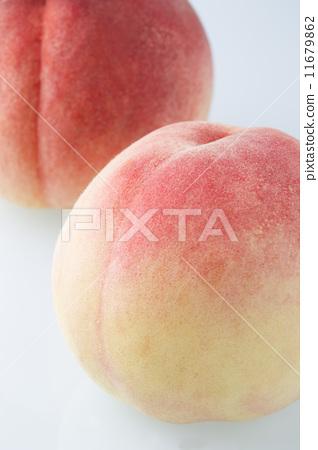 图库照片: 水果 桃子 复数