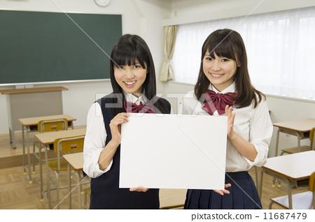 首页 照片 人物 学生 高中生 制服 校服 高中生  *pixta限定素材仅在p