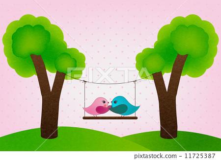 家庭树 矢量