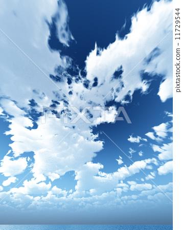 云 首页 插图 天空 云彩 积雨云 雷云 积雨云 云  *pixta限定素材仅在