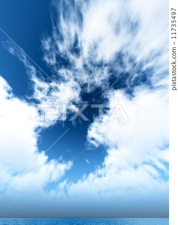 插图素材: 雷云 积雨云 云