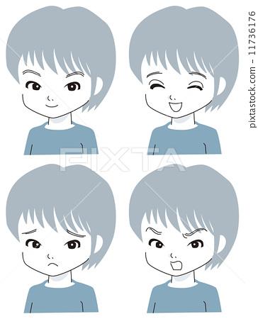 表达 面部表情 表达式