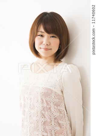 照片素材(图片): 年轻 青春 女生