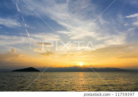 琵琶湖 滋贺县