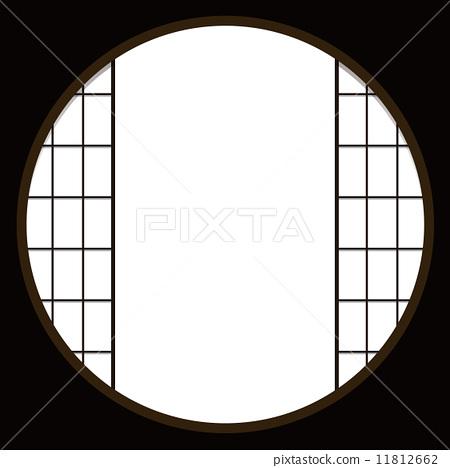 圆窗 炮眼 日式房屋
