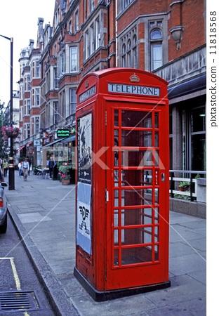 首页 照片 世界风景 英国 伦敦 电话亭 伦敦 通讯  *pixta限定素材仅