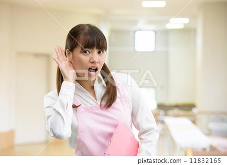 照片素材(图片): 护士 看护人 护理员