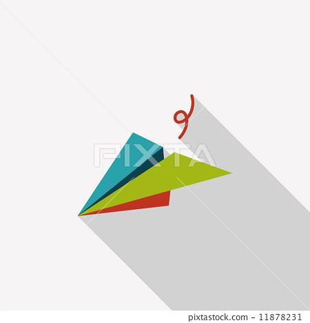 纸飞机 矢量图