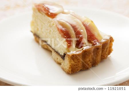 西式甜点 水果塔 花果