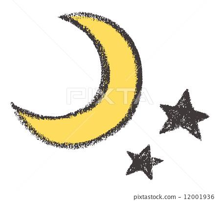 月亮 娥眉月 新月