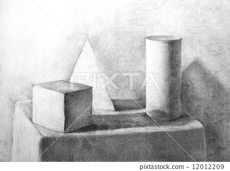 圆柱体 stock 插图 - pixta