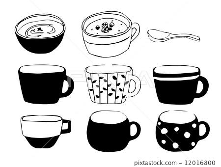 矢量叉子勺子设计矢量素材(编号