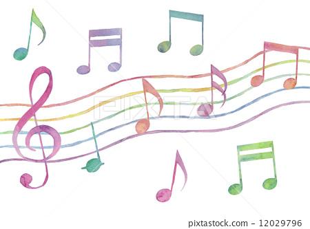 笔记 乐谱 音乐